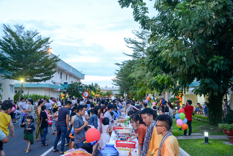 Nhà máy Thuốc lá Khatoco Khánh Hòa tổ chức vui Tết Trung thu